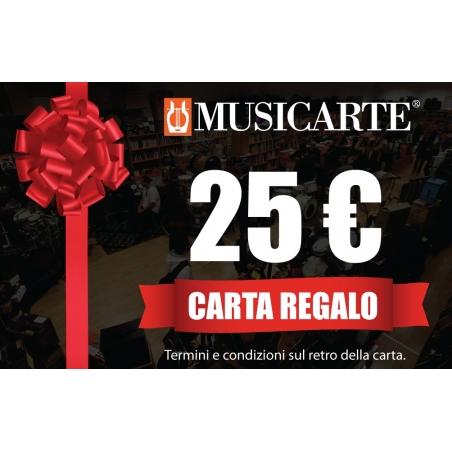 Musicarte Gift Card € 25