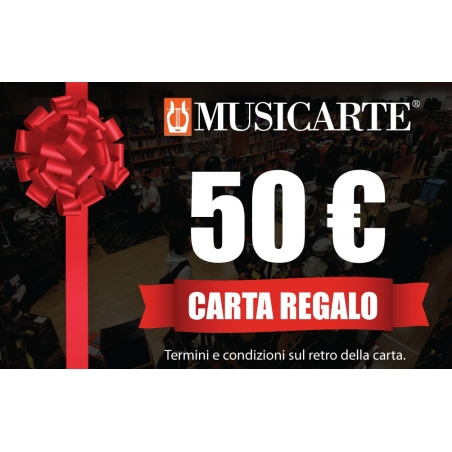 Musicarte Gift Card € 50