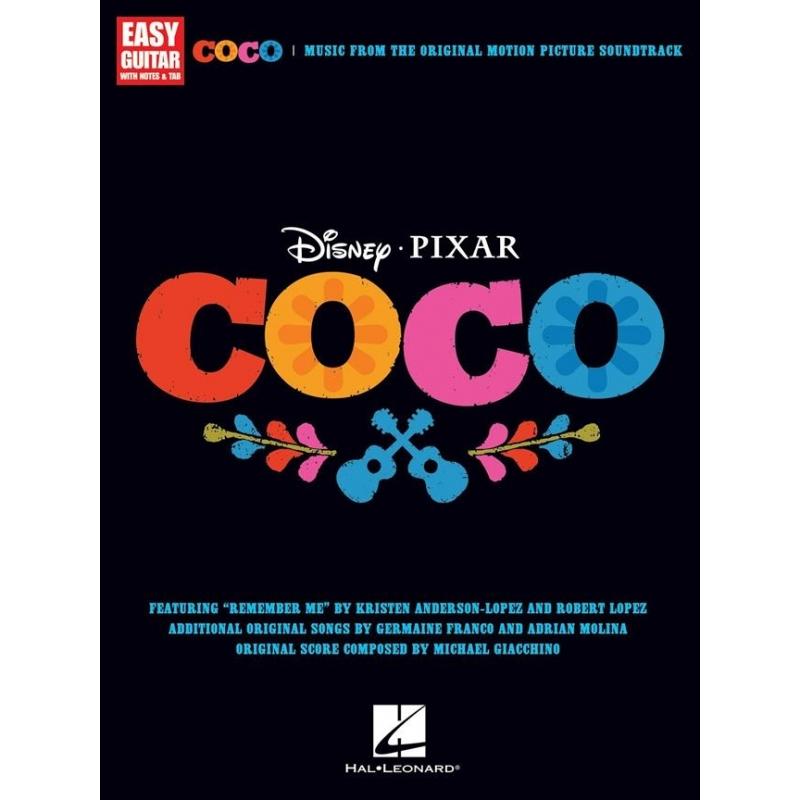 Spartito Colonna sonora Coco - Easy Guitar