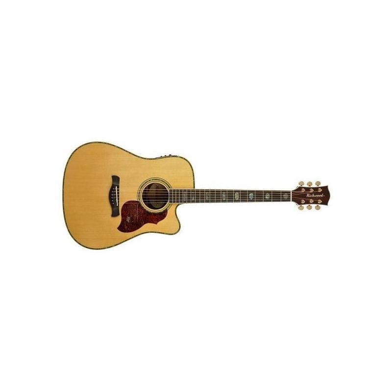 Chitarra acustica amplificata Richwood D-70-CEVA