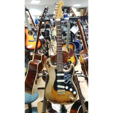 Chitarra elettrica Fender stratocaster SRV Replica