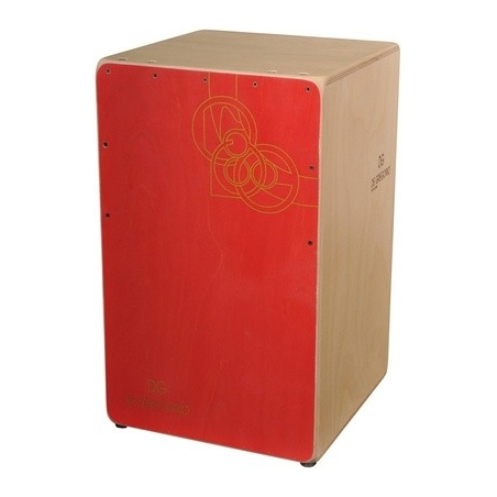 Cajon DG Chanela Red C03 RD DeGregorio