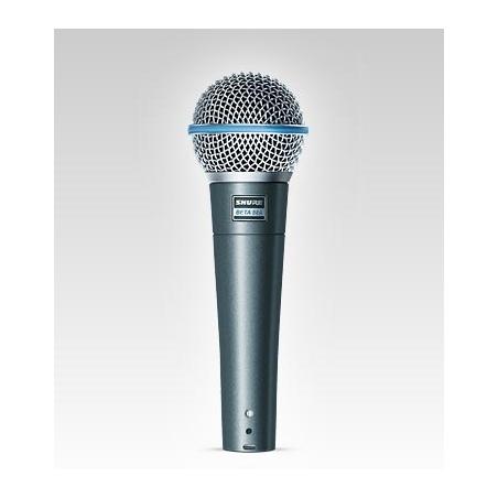 Microfono Supercardioide Shure Beta 58A