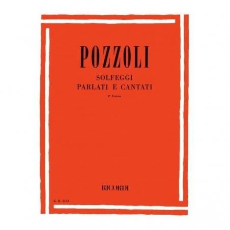 Solfeggi parlati e cantati corso II Pozzoli