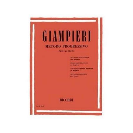 Giampieri A. metodo progressivo per saxofono