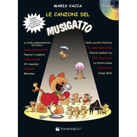 LE CANZONI DEL MUSIGATTO volume 1