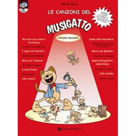 LE CANZONI DEL MUSIGATTO volume 2