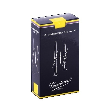 Ance Vandoren Traditional - N. 3 - Clarinetto Lab (Piccolo)