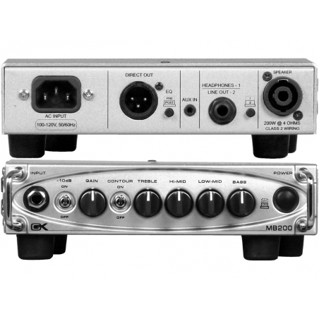 TESTATA GALLIEN KRUEGER DIGITALE MB200