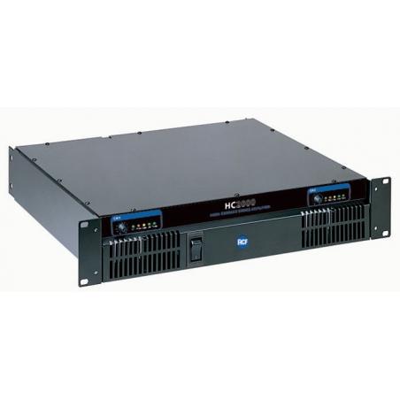 Amplificatore di potenza RCF HC2000