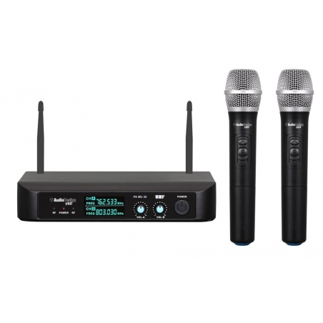 SET  MICROFONI WIRELESS PA MU20