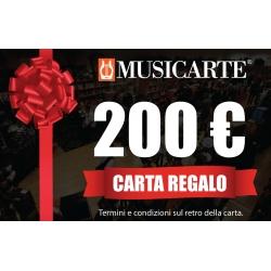Musicarte Gift Card € 200