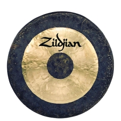 34'' Hand-Hammered Gong...