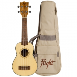 Flight DUS320 ZEB Ukulele...