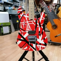 EVH - STRIPED RED VAN HALEN...