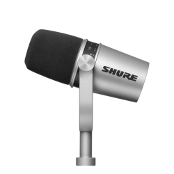 Shure MV7 Silver - XLR/USB...