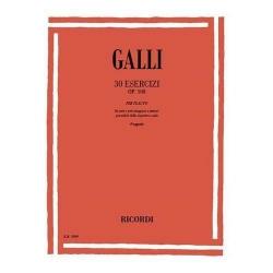 Galli R. 30 esercizi op.100