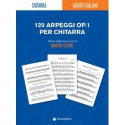 120 ARPEGGI OP. 1 PER CHITARRA