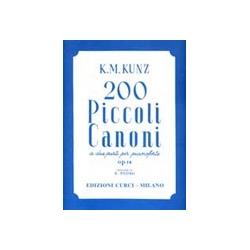 Piccoli Canoni (200) op 14...